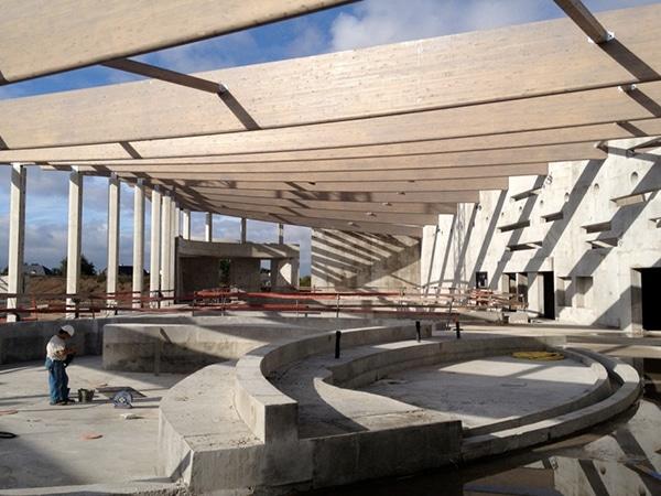 L'entreprise EGDC se charge de la réalisation de la piscine Pharéo