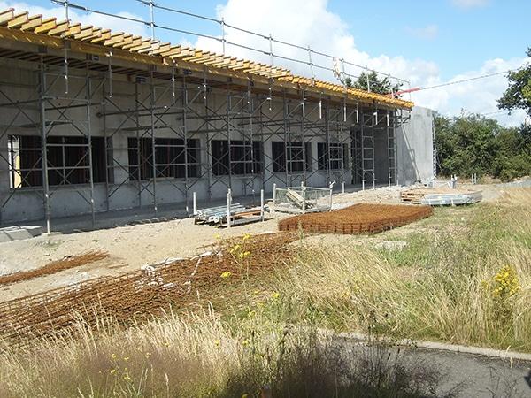 EGDC a réalisé le chantier du bâtiment de soin de suite à Cholet