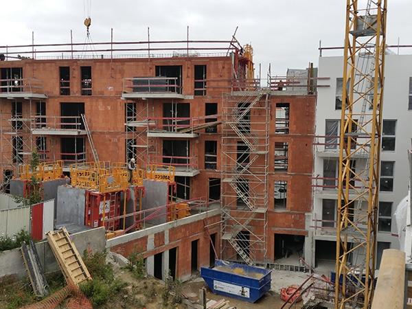 Construction de 78 habitations dans la ville de Vertou
