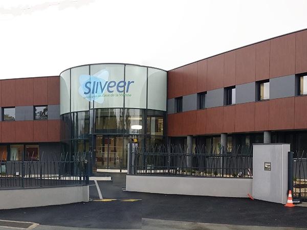 Vue d'ensemble des bureaux de SIVEER à Poitiers réalisés par EGDC
