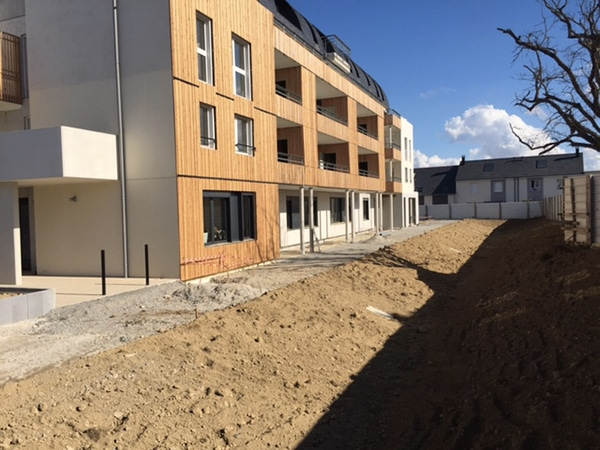 L'entreprise EGDC construit un bâtiment de 90 logements à Trélazé