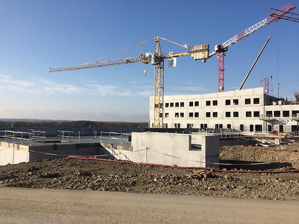 EGDC construit de nouveaux locaux techniques de l'hôpital Nord Deux Sèvres