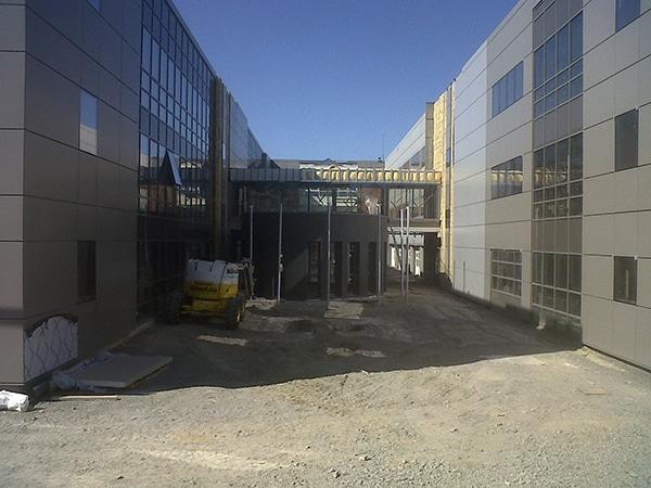 EGDC a coeur du chantier du site de la direction régionale de système U