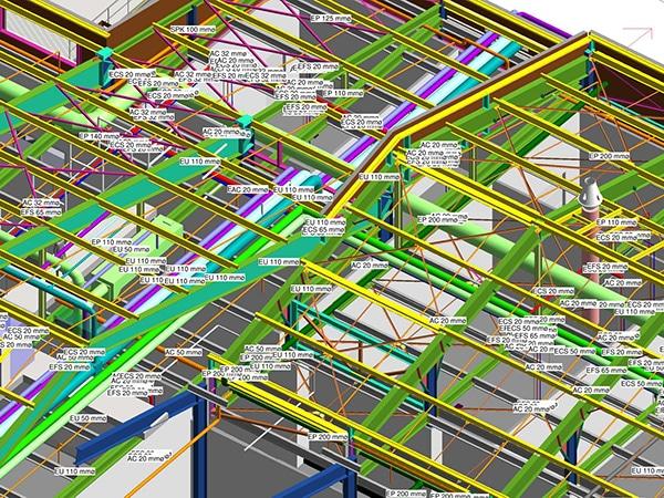 EGDC utilise BIM pour les chantiers