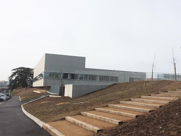 Vue d'ensemble sur la construction de l'institut de recherche et d'ingénierie en Santé réalisée par EGDC