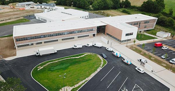 Collège de Bressuire réalisé par EGDC dans le cadre d'un ouvrage fonctionnel