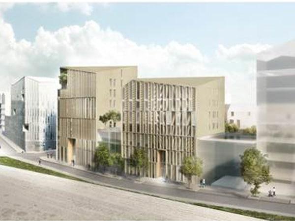 vue 3D du chantier Koncept réalisé par EGDC